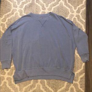 Faded blue aerie desert sweatshirt